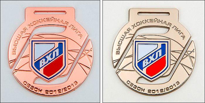 Бронзовые и серебряные медали