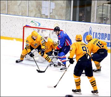 2 февраля 2015 года. Кондопога. Регулярный чемпионат ВХЛ. СКА-Карелия - Дизель - 2:1 ОТ