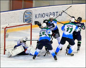 17 февраля 2015 года. Краснодар. Регулярный чемпионат ВХЛ. Кубань - Торос - 2:4
