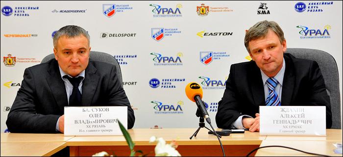 Алексей Ждахин и Олег Барсуков
