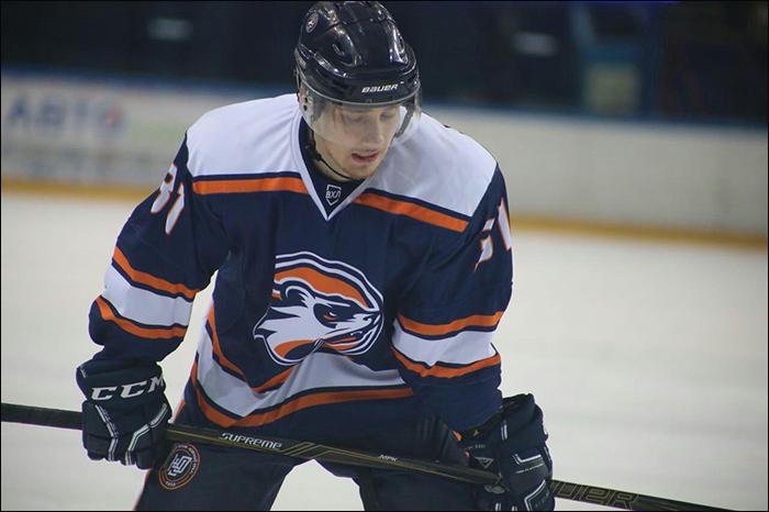 Высшая хоккейная лига - Виталий Кудрин: все шесть матчей в декабре я провел в первом звене – отсюда такой результат